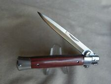 ROSEWOOD STILETTO POCKET KNIFE - NEW - FREE SHIP- MORE KNIVES LISTED