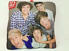 """1D One Direction Band Photo Pillow Niall Liam Zyan Harry Louis 14 X 14"""" Red Back"""