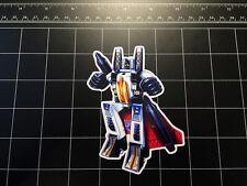 Transformers G1 Ramjet box art vinyl decal sticker Decepticon jet toy 1980's