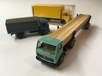 Wiking 1:87 Post-Lkw 18 552 MAN Boxed Wiking Mercedes Benz Log Carrier + 1 Other