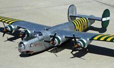 """B-24 Liberator 110"""" gigante a Escala Rc Avión Planos y Plantillas Impresos"""