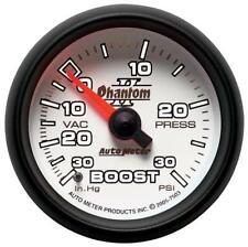 Autometer Fantasma II Vacío Impulsar Presión Calibre, 2-1 / 16 inch Mecánico #