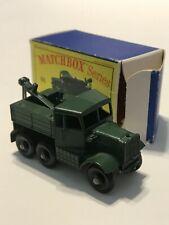 Matchbox 64 Scammel Break-Down Truck with Original Box