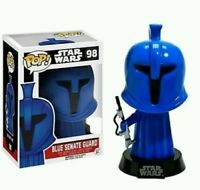 Exclusive STAR WARS Blue Senate Guard FUNKO POP Vinyl NEW in Box