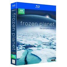 FROZEN PLANET (2011) -  Complete Series Set - Region Free - David Attenborough