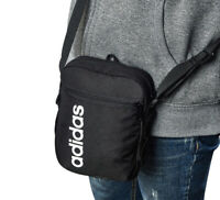 Adidas Linear Core Organizer Bag Casual Unisex Backpack Travel Black NWT DT4822