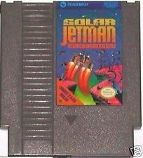NES NINTENDO ENTERTAINMENT SYSTEM GAME SOLAR JETMAN TRADEWEST HUNT