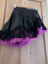 PVC ASYMMETRIC SKIRT 12 14 LACE GOTHIC LOLITA COSPLAY STEAMPUNK BURLESQUE FETISH