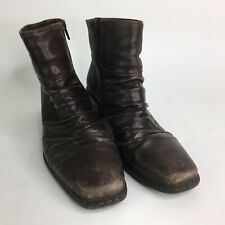 Rieker Womens EU Size 39 Brown Leather Ankle Boots