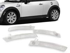 4PCS Front+Rear Clear Bumper Side Marker Light For 02-08 Mini Cooper R50/R52/R53