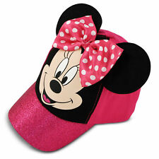 Disney Minnie Mouse Bow-tique Cotton Baseball Cap, Little Girls, Age 4-7