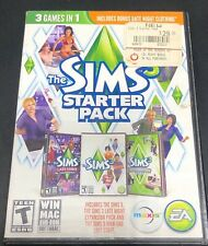 THE SIMS 3 STARTER PACK PC/MAC 3 disk set