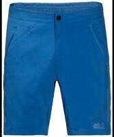 """Jack Wolfskin Passion Trail Xt Shorts Men's~Poseidon Blue~Size UK 33"""""""