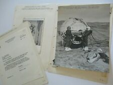 New ListingMalcolm Ross Original National Geographic Photograph & Autograph Balloonist