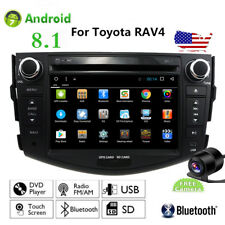 For Toyota RAV4 Android 8.1 Car GPS Stereo CD DVD Navigation 2DIN Radio Player
