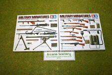 Tamiya la segunda guerra mundial armas de infantería de Estados Unidos Set 1/35 Escala Kit 35121