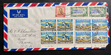 1964 Wellesley New Zealand Airmail cover To Erie PA St John Easter Seal