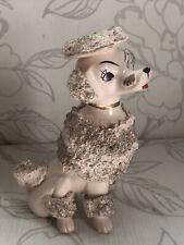 More details for adorable antique poodle figurine/vintage dog ornament/collectable beautiful  dog