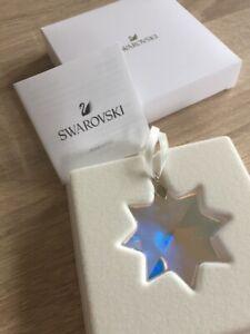 Swarovski, PWP 2017 Snowflake Star Ornament. Aurora Borealis, Art No 5302552