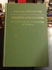 Religion and Culture, Annemarie de Waal Malefijt, hardcover 1968
