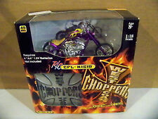 2004 1:18 Scale West Coast Choppers Jesse James R/C CFL-RIGID