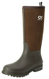 Duck and Fish Men 16 inches Neoprene Rubber Molded Outsole Knee boots