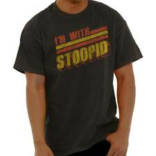 24510c188 Im With Stoopid Funny Shirt Stupid Sarcastic Novelty Gift Classic T Shirt  Tee
