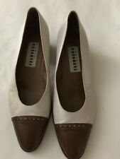 Fratelli Rossetti 100%Leather(Women's) US S 9/Eu 39 Vintage Brown/White Shoes