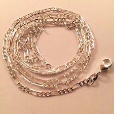 Brand New Sterling Silver 925 Figaro Necklace Chain 30 inch 76 cm Hallmarked