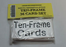 Ten-frame Card Set - Homeschool Pre-school- Kindergarten� Black White Teaching