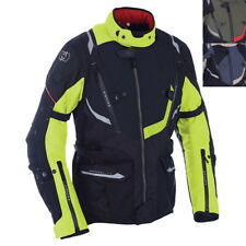 Oxford Montreal 3.0 Waterproof Motorcycle Motorbike Touring Jacket - Army Green XXXXL Tm1712044xl
