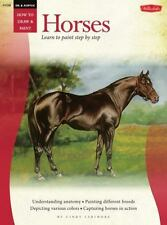 Oil: Horses How to Draw & Paint/Art Instruction Prog