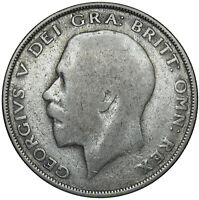 1925 HALFCROWN - GEORGE V BRITISH SILVER COIN