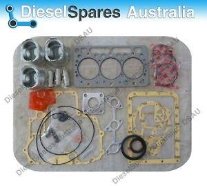 Kubota D722 Overhaul / Rebuild Kit (Pistons Rings Bearings Gasket Set)