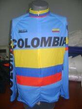 COLOMBIA BIKE JERSEY CAFE DE COL BIKE SHIRT SIZE L COOL COLUMBIA LONG SLEEVES