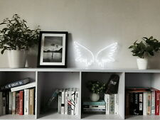 New Angel Wings Neon Sign For Bed Room Home Decor Artwork Wall Light