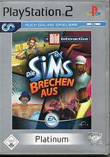 Die Sims Brechen Aus (Platinum) Playstation2 Spiel PS2