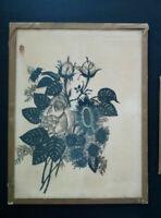 Rare Wilhelm Muller silhouette cut papper Germany 19th century Scherenschnitte