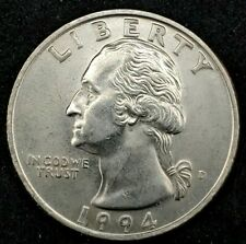 1994-D 25C Washington Quarter BU 20wc1213 70 Cents Shipping
