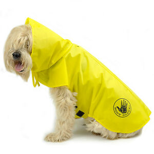 Body Glove Dog Raincoat + Free Body Glove Car Seat Protector