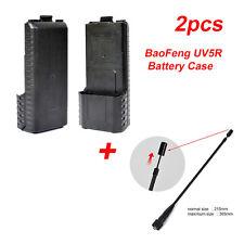 UV-5R 6XAA Extended 2way radio Battery Case Shell for BaoFeng&Telescopic Antenna