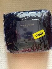 NEW Ralph Lauren Admiral Blue Ve Blue Velvet TWIN Bedskirt