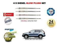 FOR HONDA CRV 2.2 CDTI N22A2 2005-2009 NEW DIESEL 4X GLOW PLUGS SET