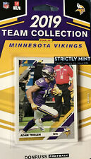 Minnesota Vikings 2019 Donruss Factory Team Set Cousins MOSS Irv Smith Rookie