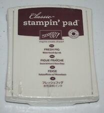 Stampin Up Retired FRESH FIG In Color Ink Pad NEW Purple