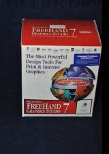Complete Set of Documents for Macromedia Graphics Studio 7 ~ For Mac or Windows