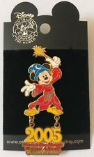 Disney DLR / DCA 2005 Mickey Mouse Sorcerer Dangle Pin