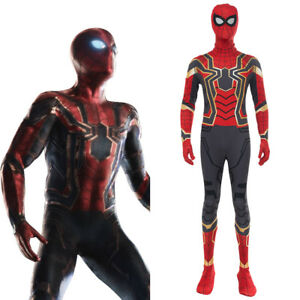 Captain America 3 Iron Spider-Man Homecoming Peter Park Tom Holland Suit Outfit