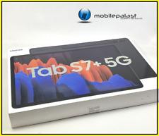 SAMSUNG GALAXY TAB S7+ PLUS 5G 256GB SM-T976B BLACK 12,4 Zoll OVP NEU