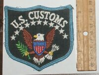 FEDERAL LAW ENFORCEMENT US POLICE used Worn patch